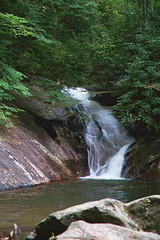 Lower Waterfalls at Blood Mountain (jlf1938) Tags: waterfalls bloodmountain northgeorgia art