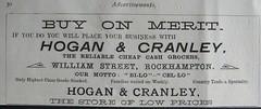 Hogan & Cranley - Rockhampton, Qld - 1907 (Aussie~mobs) Tags: 1907 vintage queensland australia rockhampton annualpublication printed advertisement hogancranley store shop grocer