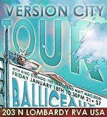 2013 (BOPST) Tags: bopst design poster livemusic reggae ska tour versioncity 2013