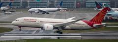 Air India 787 Dreamliner landing at LHR (Alaskan Dude) Tags: travel england london heathrow londonheathrow lhr planespotting planewatching airplane airplanes airline airliners aviation 787 787dreamliner airindia airindia787