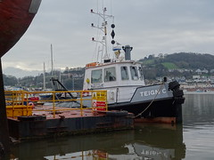 Teign C (MMSI: 235082804) (guyfogwill) Tags: guyfogwill guy fogwill unitedkingdom boats devon riverteign teignmouth boat gbr river winter teignc backbeach riverbeach teignestuary southwest uk tq14 teignbridge workboat teignmouthapproaches newquay thc teignmouthharbourcommission nautical sony