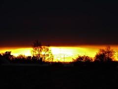 Just an amazing sunset. (Ia Löfquist) Tags: skåne sweden sunset solnedgång