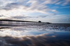 Southport Pier (nickcoates74) Tags: southport southportpier pier beach coast irishsea sefton a6300 ilce6300 sony 1650mm sel1650 longexposure nd1000 clouds driftingclouds 3leggedthing
