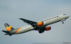 THOMAS COOK A321 G-THJH (Adrian.Kissane) Tags: 1238 a321 gthjh thomascook shannon