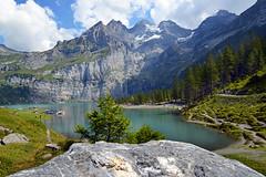 4717 Oeschinensee (Kandersteg) Schweiz. (Fotomouse) Tags: fotomouse margrit oeschinensee kandersteg schweiz swiss swizzera switzerland landschaft landscape berglandschaft berge see mountainlandscape mountains