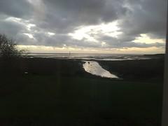 The Mersey, Hightown. (Dradny) Tags: tidal river sea liverpool winterlight winter dusk rivermersey merseyside mersey