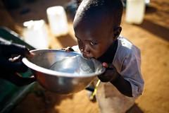 Boy drinking, water (water.alternatives) Tags: au africa africanunion darfur elfasher nacionesunidas onu peacekeepers sudan un unamid unitednations water worldwaterday abushouk northdarfur