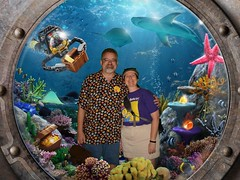 """Tracey and Scott at Lego City: Deep Sea Adventure • <a style=""""font-size:0.8em;"""" href=""""http://www.flickr.com/photos/28558260@N04/46311780621/"""" target=""""_blank"""">View on Flickr</a>"""