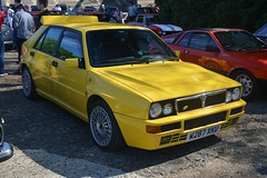 Lancia Delta HF Integrale 16v Giallo Ginestra (CA Photography2012) Tags: m287xku auto italia italian car day brooklands motor museum 2018 surry uk united kingdom ca photography automotive exotic spotting vehicle automobile exotics lancia delta hf integrale 16v giallo ginestra special edition limited hot hatch hatchback family rally legend icon 4x4 awd sportscar yellow