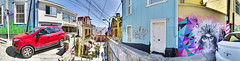 Casa Roja (John_de_Souza) Tags: johndesouza valparaiso chile panorama streetart sonya7rii sonyfe28f2
