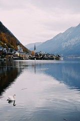 (Kristen Leary) Tags: hallstatt austria europe europetravel landscape landscapephotography fall autumn colors nature outdoors nikon nikond3300 nikonphotography world explore adventure travel photography photographer youngphotographer reflection mountains water