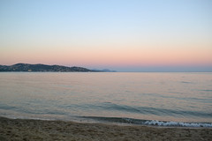 Sunset (chiara_zangola) Tags: sunset sea water france frenchriviera