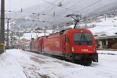 ÖBB 1216 002-6 und 1216 013-3 Eurocity, Matrei am Brenner (TaurusES64U4) Tags: öbb taurus 1216 es64u4