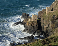 Close to the Edge (Andrew G Robertson) Tags: botallack tin mine cornwall coast storm