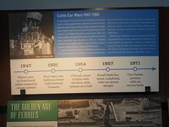 P9193031 (bentchristensen14) Tags: usa unitedstatesofamerica california sanfrancisco sanfranciscorailwaymuseum museum tram steuartstreet