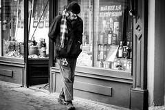 The Lost Shoe (Cycling-Road-Hog) Tags: blackwhite candid canoneos750d citylife colour efs55250mmf456isstm edinburgh edinburghstreetphotography monochrome people places royalmile scotland street streetphotography streetportrait urban
