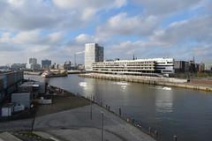 HafenCity, Hamburg (davidvines1) Tags: hafencity hamburg germany university river elbe sky cloud ship elbphilharmonie