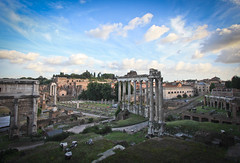 Day 35 of 365 - My Town (gcarmilla) Tags: rome roma italy italia 365 365project roman forum foro ancient antica clouds sky cielo nuvole