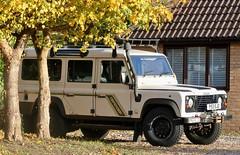 P53 EJO (Nivek.Old.Gold) Tags: 1997 land rover defender 110 tdi county station wagon 2495cc
