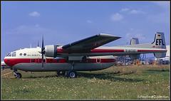 D-ACUC / BSL 08.1971 (propfreak) Tags: propfreak propfreakcollection slidescan lfmh bsl basle mulhouse euroairport dacuc nordaviation sncan n2501d noratlas elbeflug