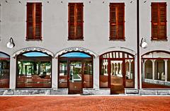 Escape route (Marco Trovò) Tags: marcotrovò hdr canoneos5d cusago milano italia italy città city strada street costruzioni buildings architettura architecture