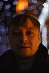 _DSC5094 (Aris_Totel) Tags: light lights shing blinke man male smoke city bokeh bulb