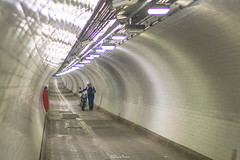 Street Photography, Woolwich Foot Tunnel (LFaurePhotos) Tags: londonbynight streetsoflondon foottunnel lfaurephotos streetphotography subway woolwich