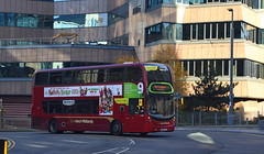 On the move? National Express West Midlands ADL Enviro 400MMC, 6106 (paulburr73) Tags: 6106