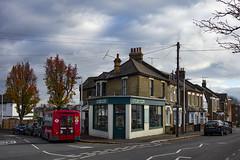 Rupert's Upholstery, South Woodford (London Less Travelled) Tags: uk unitedkingdom britain england london suburb suburbia suburban urban city woodford southwoodford redbridge shop bus street