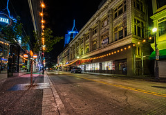 Wandering the City Streets (tquist24) Tags: cvs hdr nikon nikond5300 outdoor pennsylvania pittsburgh architecture city downtown geotagged lights longexposure pharmacy road starburst street urban windows unitedstates tree sidewalk car lamppost