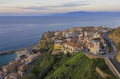 Coastal view of Pizzo (Oash_Dany) Tags: drone dji mavic coastline sunset seaside