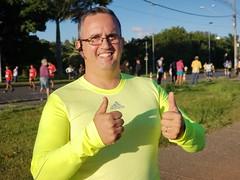 Minha primeira corrida de 5km. Fiz sem parar ou caminhar.