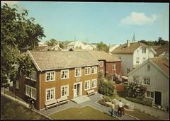 Postkort fra Agder (Avtrykket) Tags: apotek bolighus hus postkort reimann uthus grimstad austagder norway nor