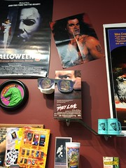 """Horror Movie Displays at Slashback Video • <a style=""""font-size:0.8em;"""" href=""""http://www.flickr.com/photos/28558260@N04/31352130797/"""" target=""""_blank"""">View on Flickr</a>"""