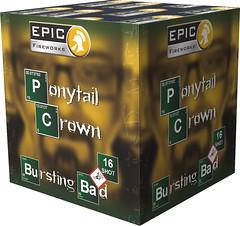 Ponytail Crown - Bursting Bad Series - Epic Fireworks (EpicFireworks) Tags: ponytail crown bursting bad series epic fireworks
