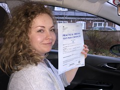 Massive congratulations  to Iryna Temple passing her driving test on her first attempt with only 4 minor faults.  www.leosdrivingschool.com