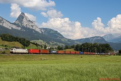 TXL BR 186 906 (Bradley Morey) Tags: txl br 186 crossrail xrail bombardier traxx ms steinen gotthard trainspotting train mythen suisse schweiz freight photography