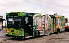 Bus Eireann KC8 (ZSI8). (Fred Dean Jnr) Tags: alloverad galway gac buseireann kc8 zsi8 si galwaygarage may1999 wrap heineken