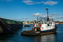 DD Catherwood ~ Victoria Upper Harbour (Chris City) Tags: tug tugboat barge tow towing harbour harbor ocean ledcor