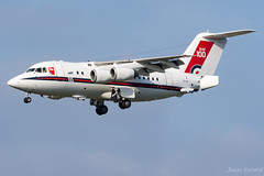 RAF_BEA146_ZE700_BRU_OKT18 (Jonas_Evrard) Tags: aviation airport aircraft airplane airliner spotting spotter brussel goverment photography planespotting plane planes planespotter
