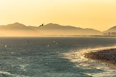 Fim de Tarde na Barra da Tijuca - Rio de Janeiro (mariohowat) Tags: praiadabarradatijuca barradatijuca entardecer sunset pôrdosol natureza riodejaneiro canon6d brasil brazil