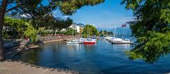 Lago Maggiore 2018  - Locarno (karlheinz klingbeil) Tags: wasser suisse boats boote lake swissalps schweiz alps water switzerland city schiffe panorama see alpen stadt locarno tessin ch