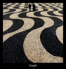 Existence 05 (Couple) (marcvazart) Tags: lisbonne paysage vacances voyage street lignes couple existence