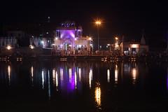 DSC09976 (thomas.pirolt) Tags: takumar india goverdhan sonya7 sony a7 a7ii m42 landscape radhakund radha braj water syamakund shyamakund vrindavan krishna krsna radharani bhakti lake art night