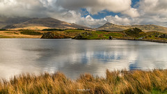 Llyn y Dwarchen (Mark Palombella Hart) Tags: snowdonia lake wales autumn photography photographer photooftheday potd photo mountains hills
