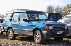 P549 AWL (Nivek.Old.Gold) Tags: 1997 land rover discovery tdi 5door 2495cc