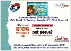 🔥Join Us Live🔥  #LIKE✔ #SHARE ✔ #TUNE IN✔ Information   Introspection   Inspiration   TALK ABOUT TUESDAY, November 20, 2018, @ 12pm, cst,  Guest Co-Host  ➡️Daily Habits that will change your life ➡️Make Money Without a Job (makinwaveswithdarci) Tags: advertising branding like networking entrepreneur business tune market socialmedia training smallbusiness share makeithappen
