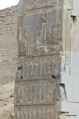 005 Hundred Column Hall (Sedsetoon), North Doorway, Persepolis  (16).JPG (tobeytravels) Tags: artaxerxes xerxes ahurmazda alexanderthegreat