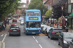 Preserved Fylde 71 (OJI 4371 ex EBV 85S) (SelmerOrSelnec) Tags: preserved fylde bluebus leyland atlantean northerncounties oji4371 ebv85s lythamstannes lytham cliftonstreet bus rally runningday