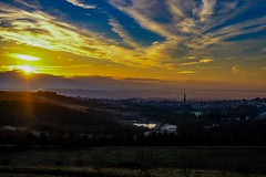 Sunrise vista (Dave Bickley) Tags: gedlingcountrypark gedling vista nottingham sunrise sun wintersun